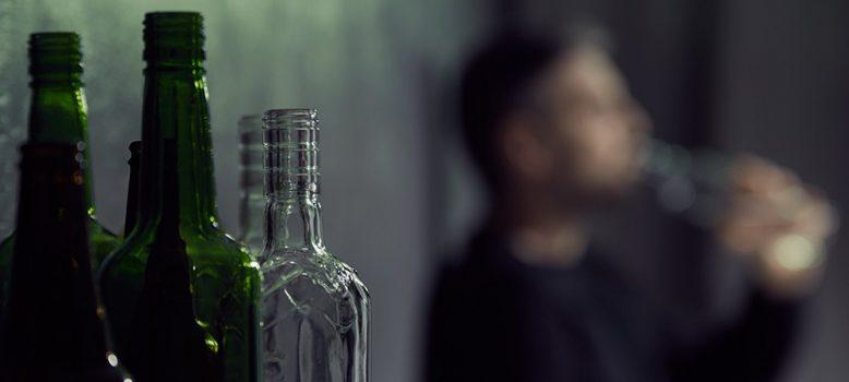 Alcohol addiction banner