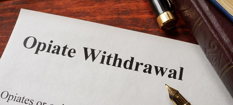 opiate withdrawal and symptoms